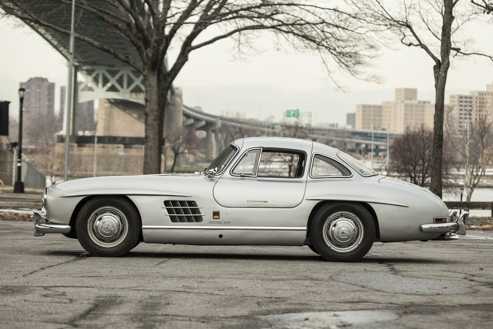 1955 mercedes benz 300sl gullwing silver arrow cars ltd for Mercedes benz gullwing 1955