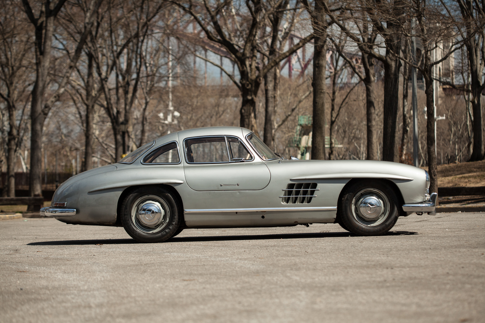 1955 mercedes benz 300sl gullwing silver arrow cars ltd for Mercedes benz 300sl gullwing for sale