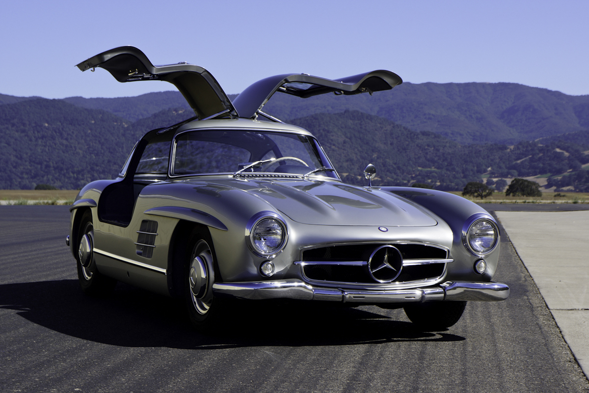 1956 Mercedes-Benz 300SL Gullwing (Silver) for sale