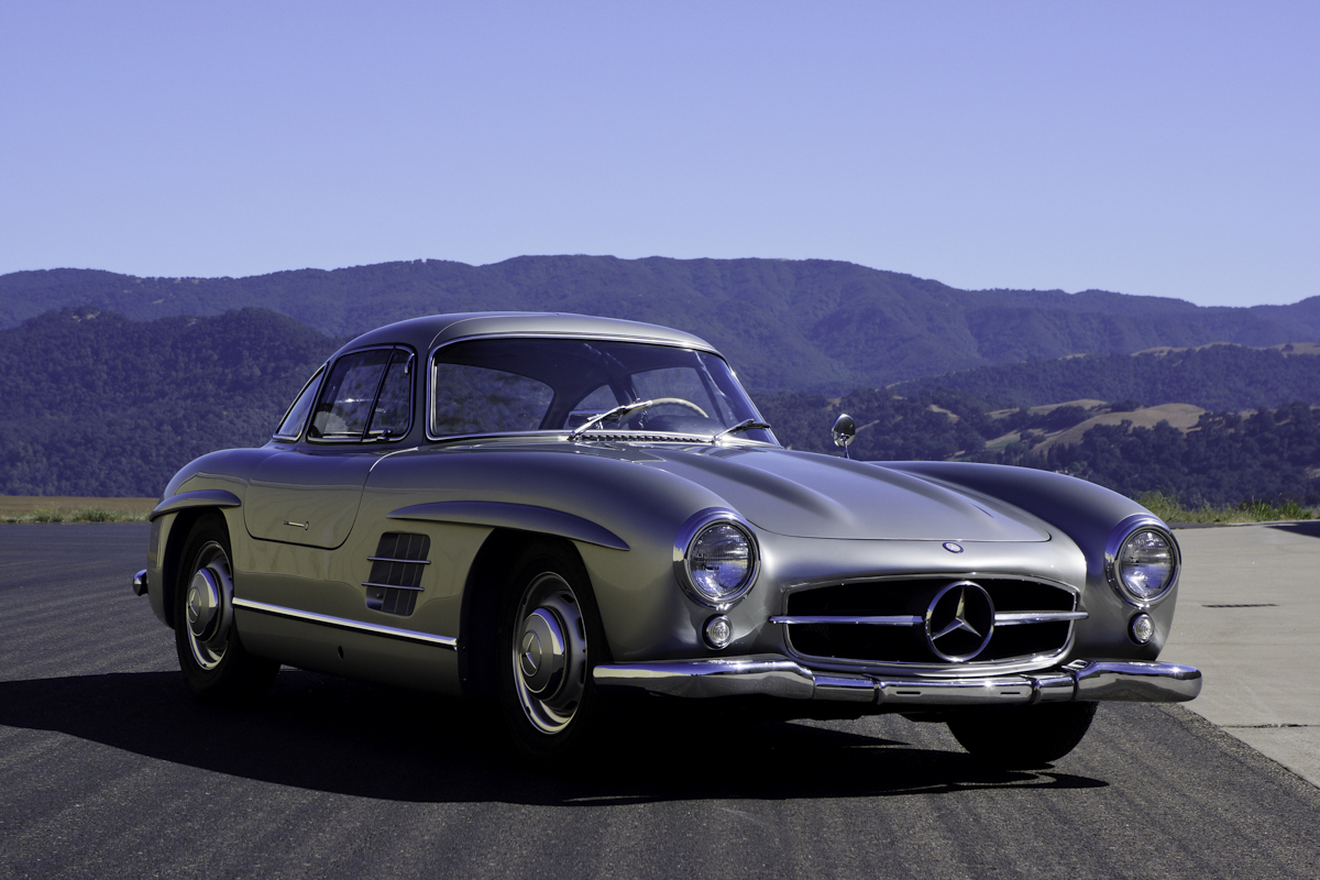 1956 mercedes benz 300sl gullwing for sale silver arrow for Mercedes benz 300sl gullwing for sale