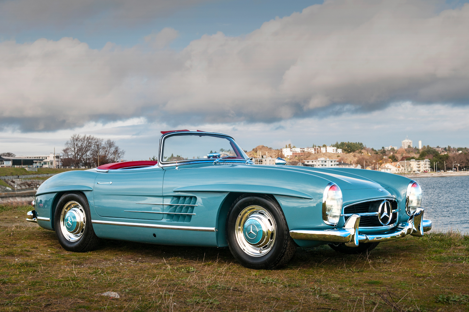 1958 mercedes benz 300sl roadster for sale silver arrow. Black Bedroom Furniture Sets. Home Design Ideas