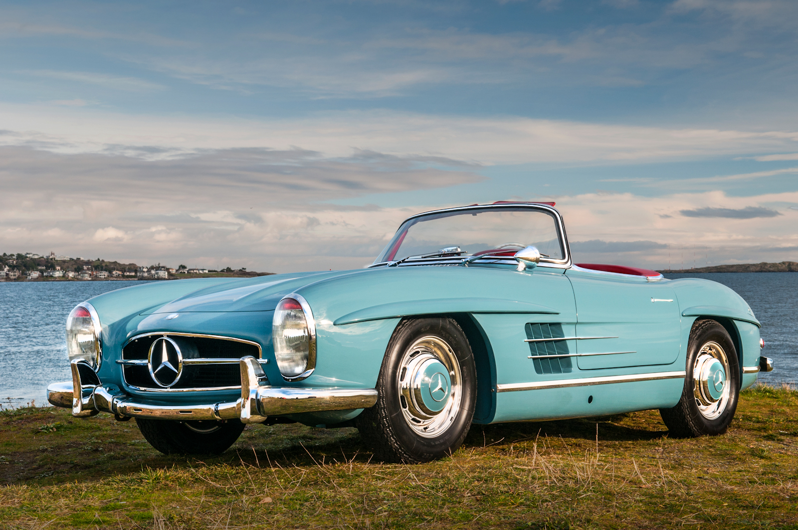 1958 mercedes benz 300sl roadster for sale silver arrow for Benz mercedes for sale