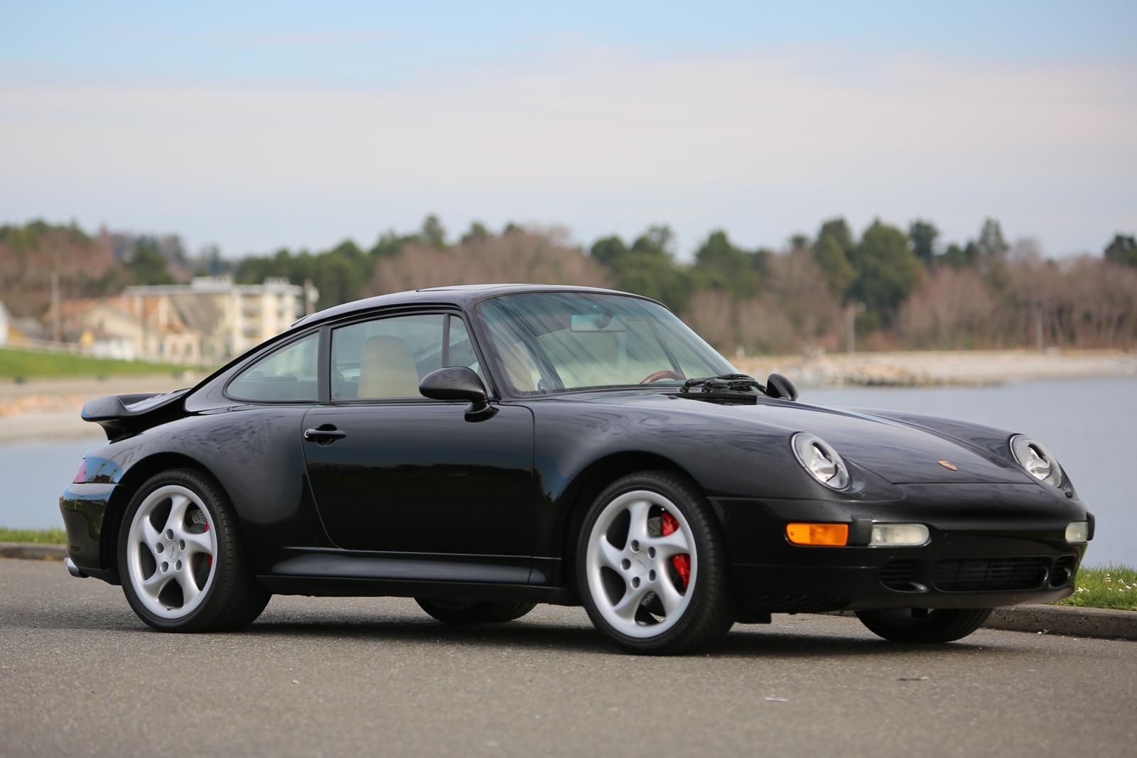 1996 Porsche 911 Turbo Black for sale