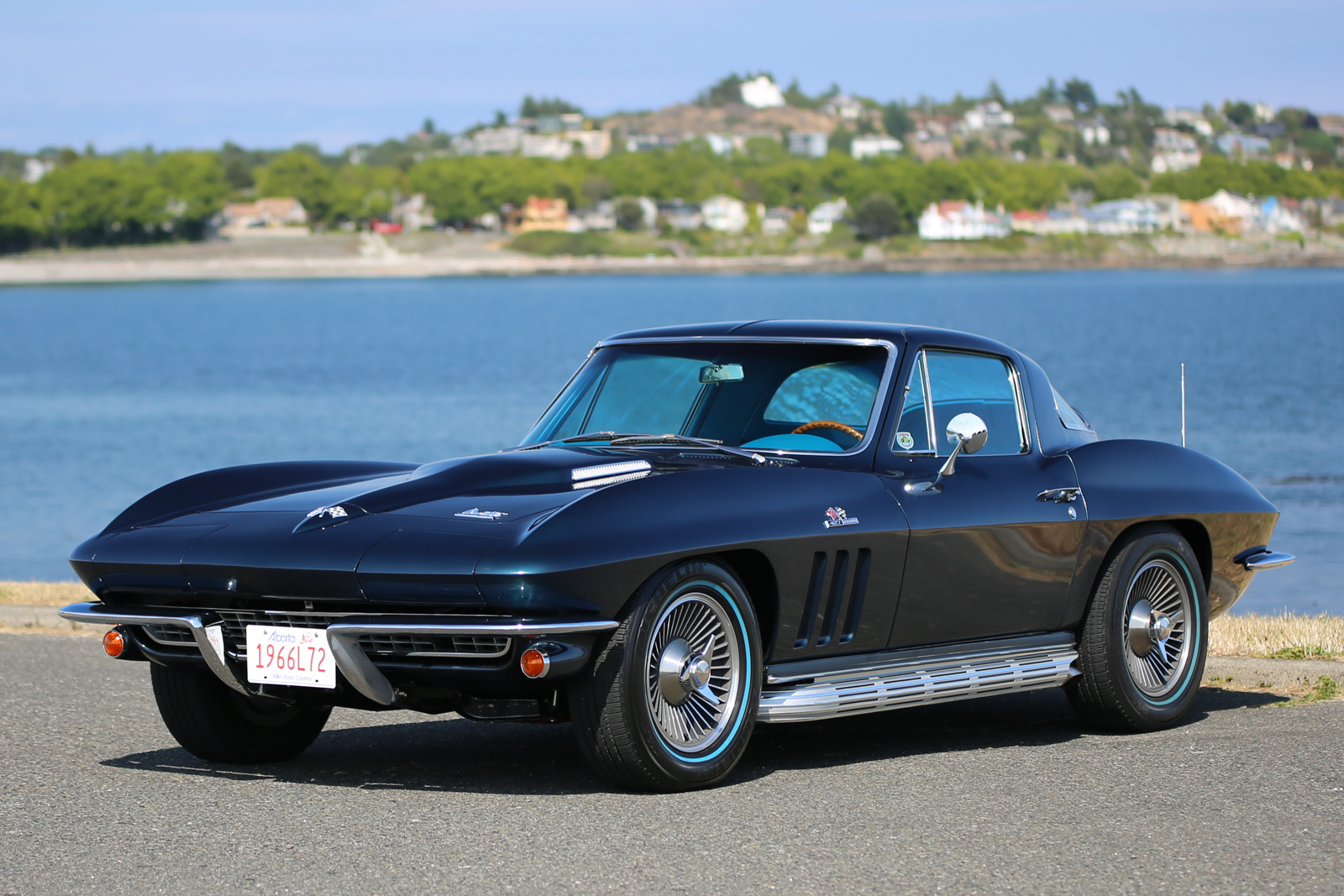 1966 chevrolet corvette l72 coupe silver arrow cars ltd. Black Bedroom Furniture Sets. Home Design Ideas
