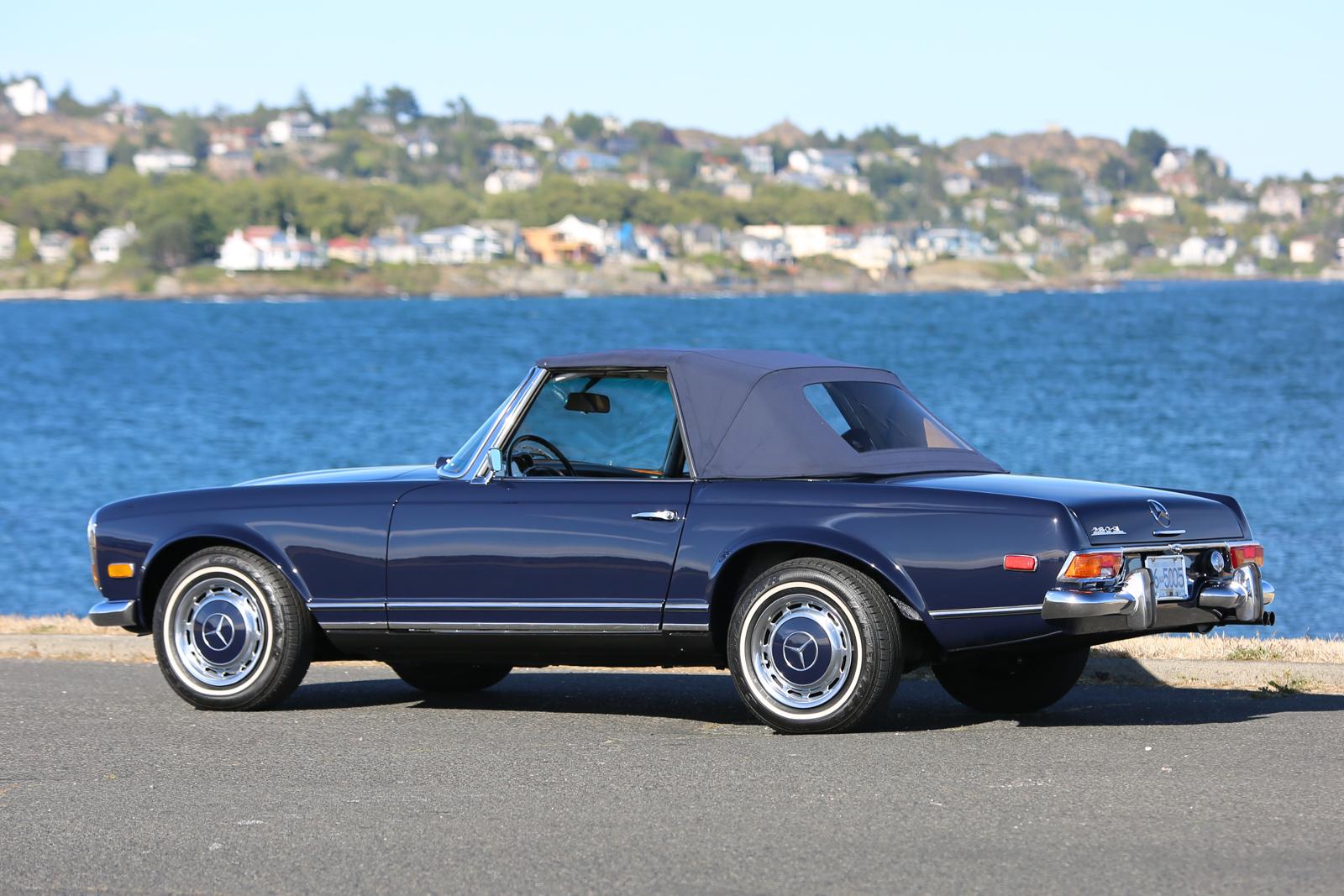1971 mercedes benz 280sl silver arrow cars ltd for Mercedes benz approved oil list