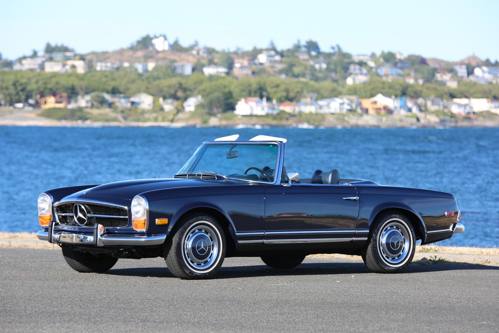 1971 Mercedes Benz 280sl Silver Arrow Cars Ltd