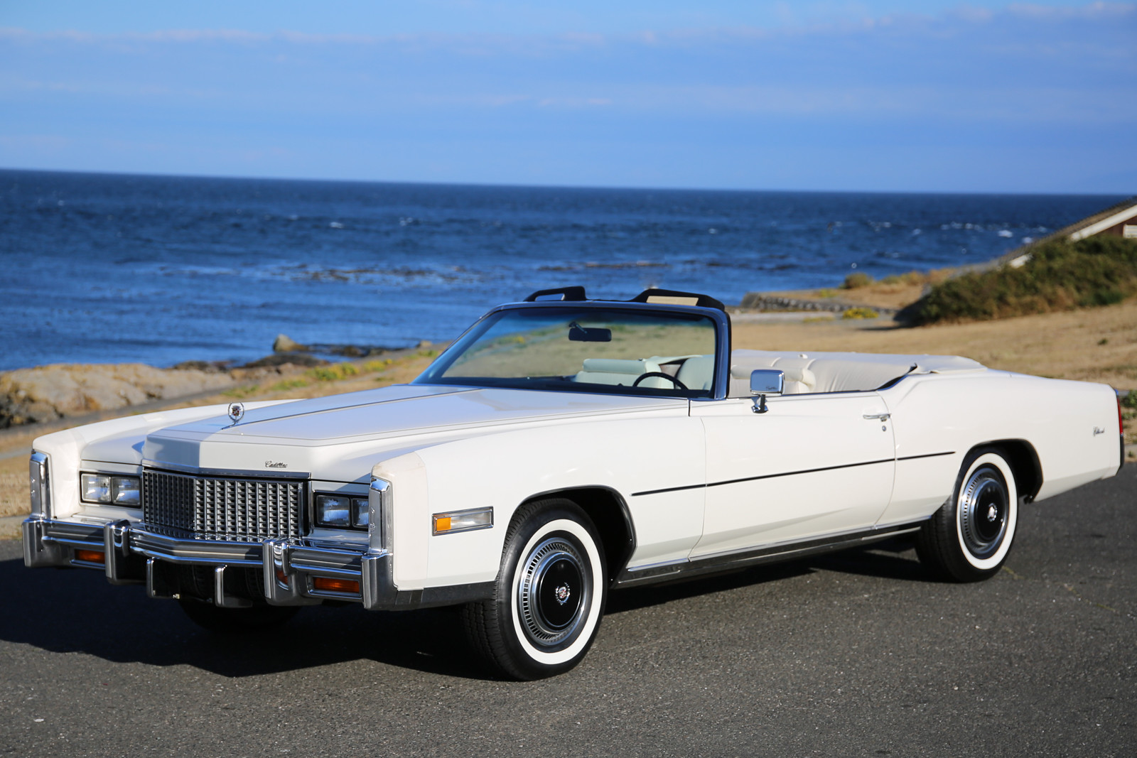 1976 cadillac fleetwood eldorado convertible - silver arrow cars ltd.