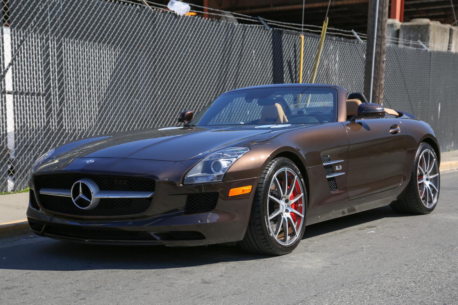2012 Mercedes-Benz SLS Roadster for sale