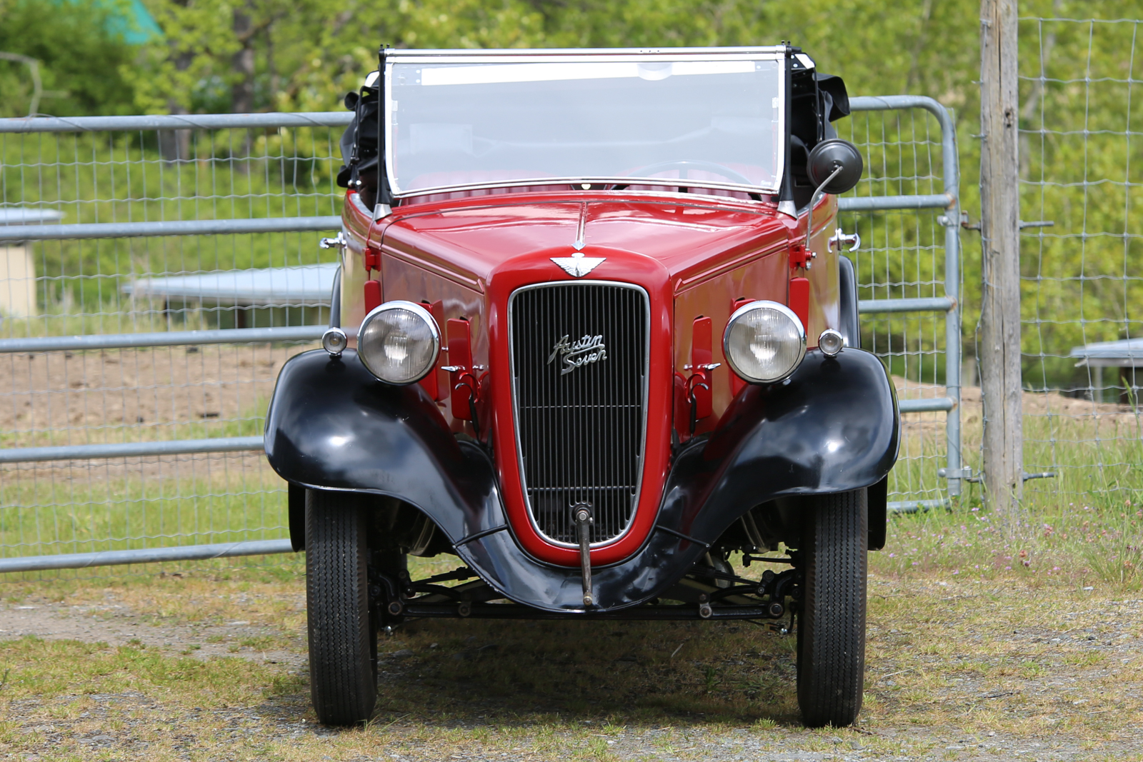 1936 Austin Seven Silver Arrow Cars Ltd Wiring Diagram For Sale