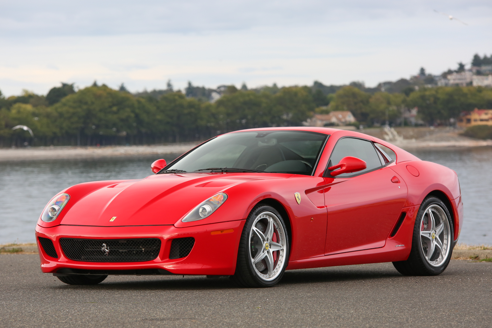 2007 ferrari 599 gtb fiorano hgte 6 speed silver arrow cars ltd. Black Bedroom Furniture Sets. Home Design Ideas