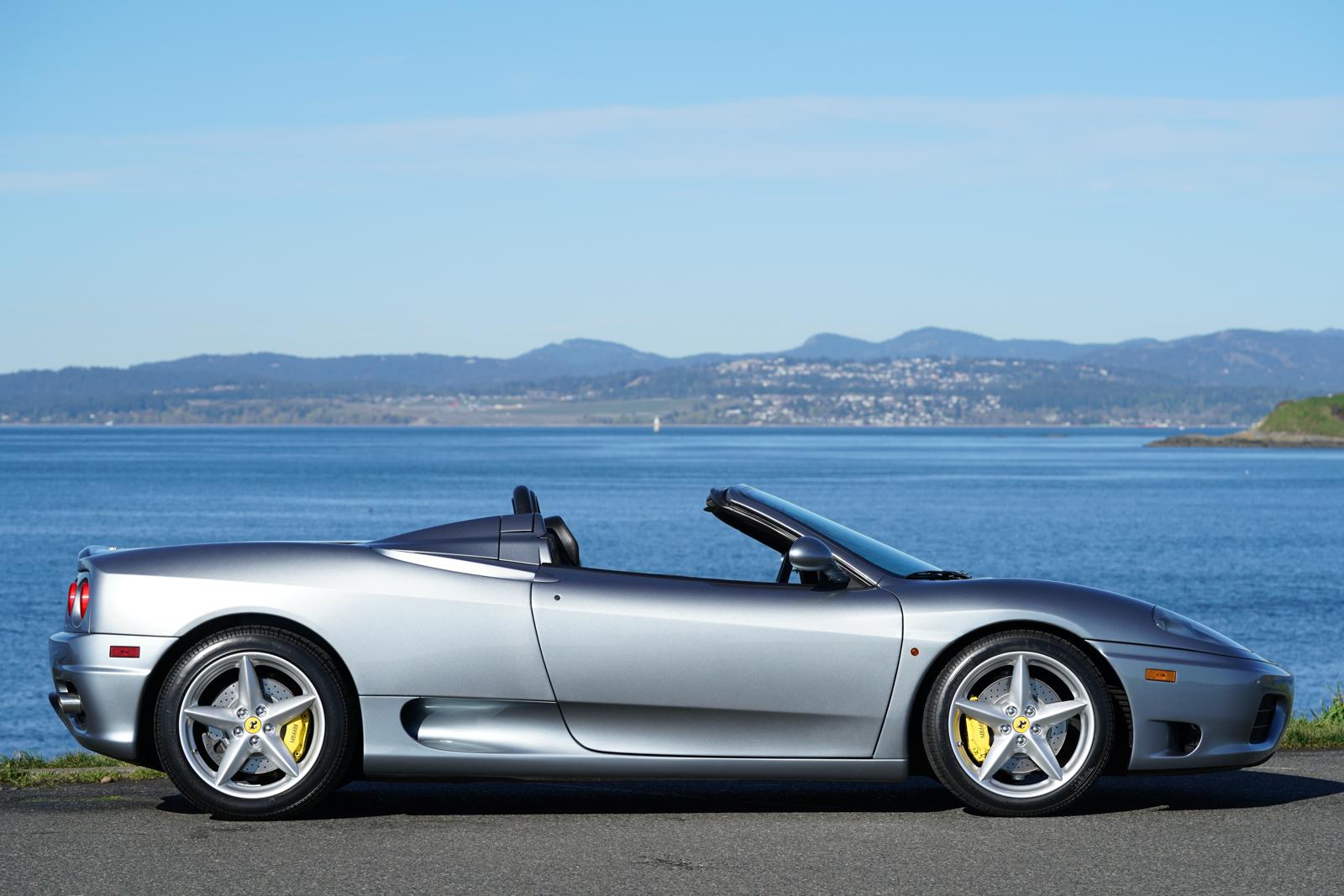 2002 Ferrari 360 Spider For Sale Silver Arrow Cars Ltd