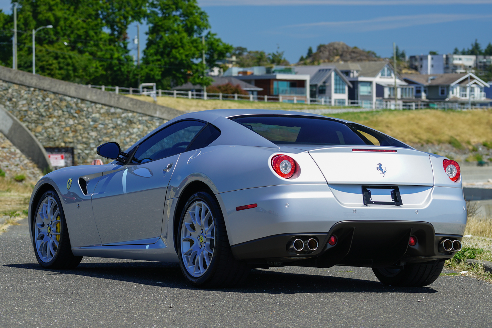 2007 ferrari 599 gtb fiorano for sale silver arrow cars ltd. Black Bedroom Furniture Sets. Home Design Ideas