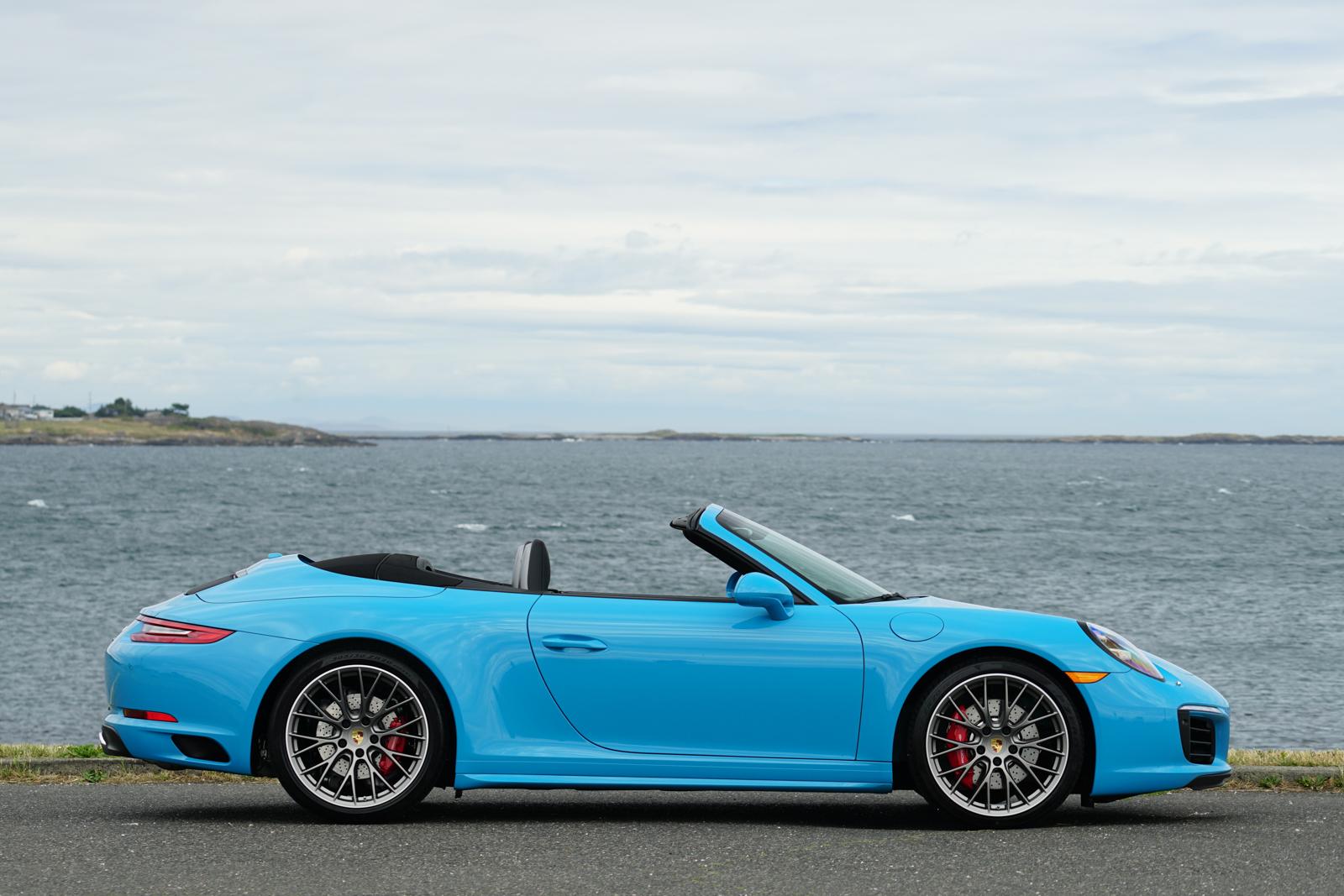 2017 Porsche 911 Carrera 4s Cabriolet For Sale Silver