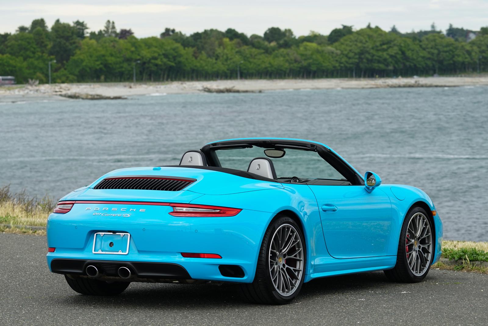 2017 porsche 911 carrera 4s cabriolet for sale silver arrow cars ltd. Black Bedroom Furniture Sets. Home Design Ideas