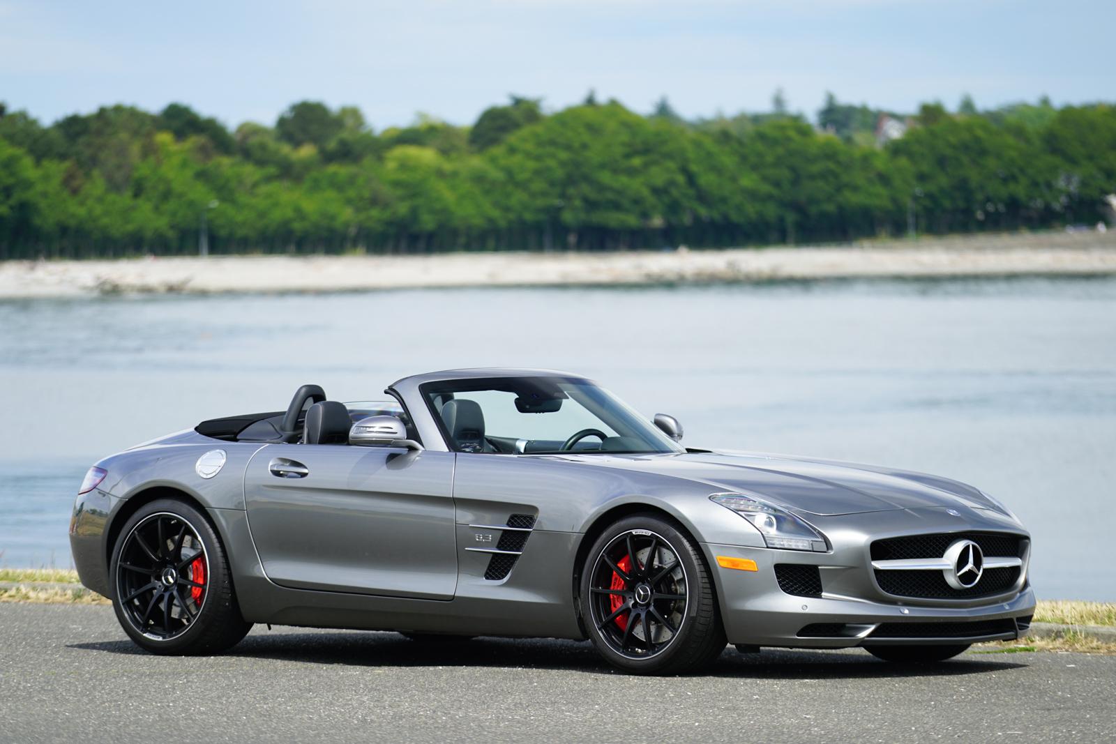 2012 Mercedes-Benz SLS AMG Roadster for sale