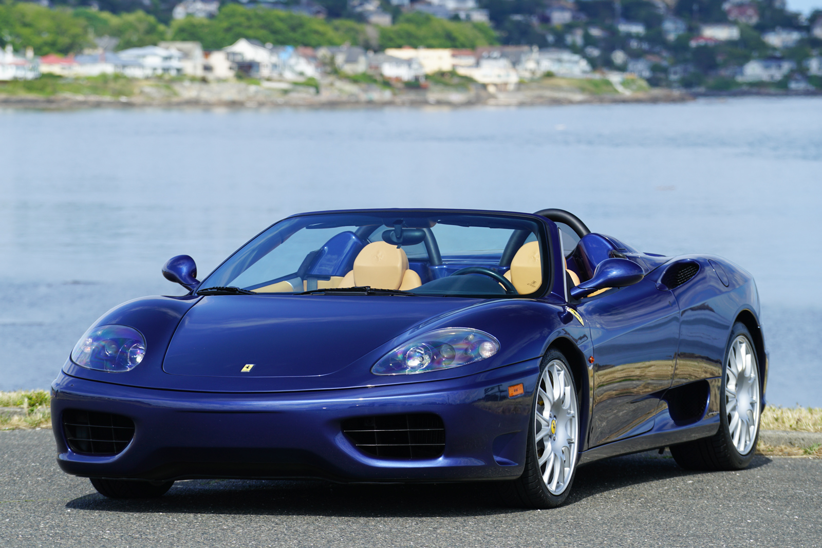 2003 ferrari 360 spider f1 for sale silver arrow cars ltd. Black Bedroom Furniture Sets. Home Design Ideas