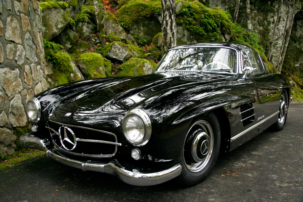 1954 mercedes benz 300sl gullwing for sale silver arrow for Benz mercedes for sale
