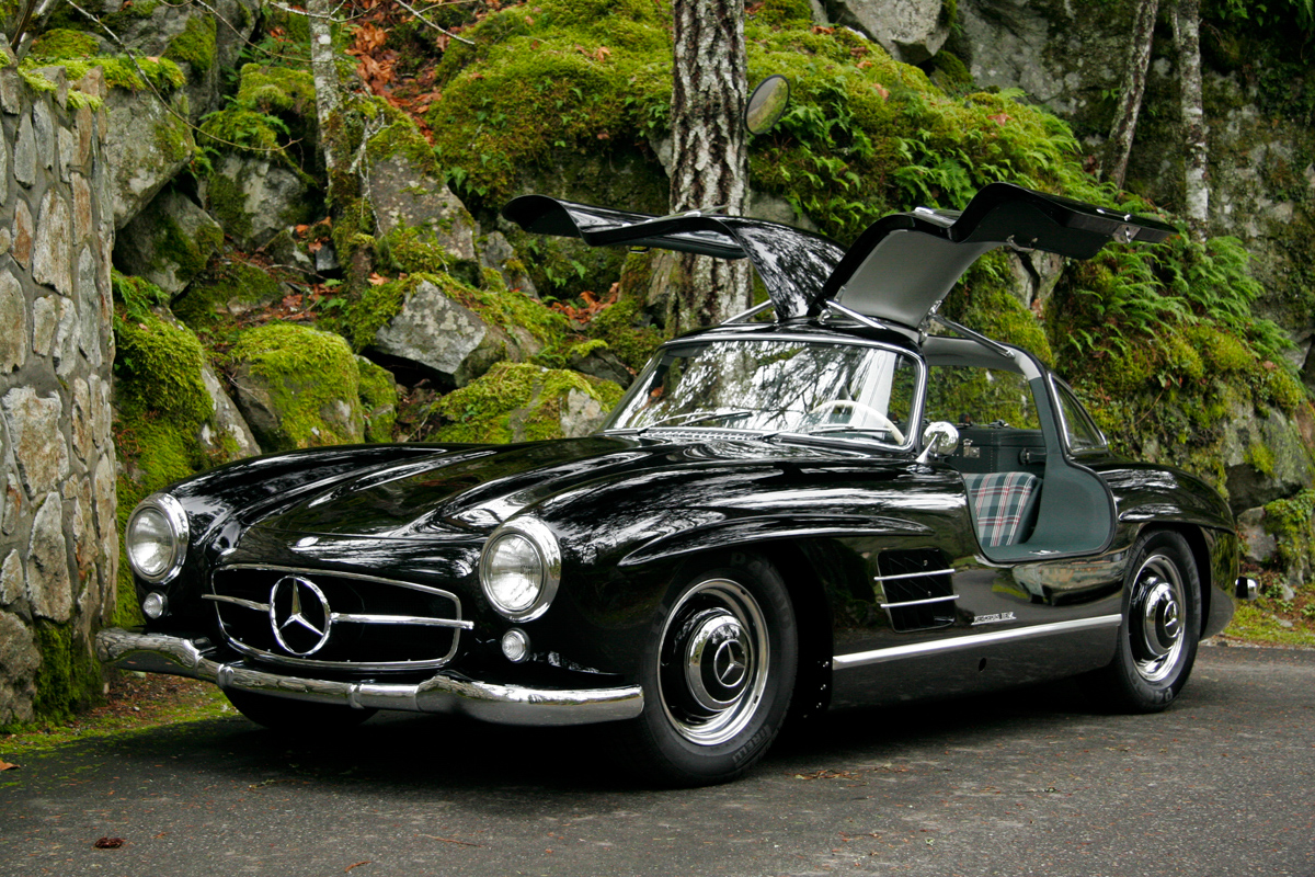1954 mercedes benz 300sl gullwing for sale silver arrow
