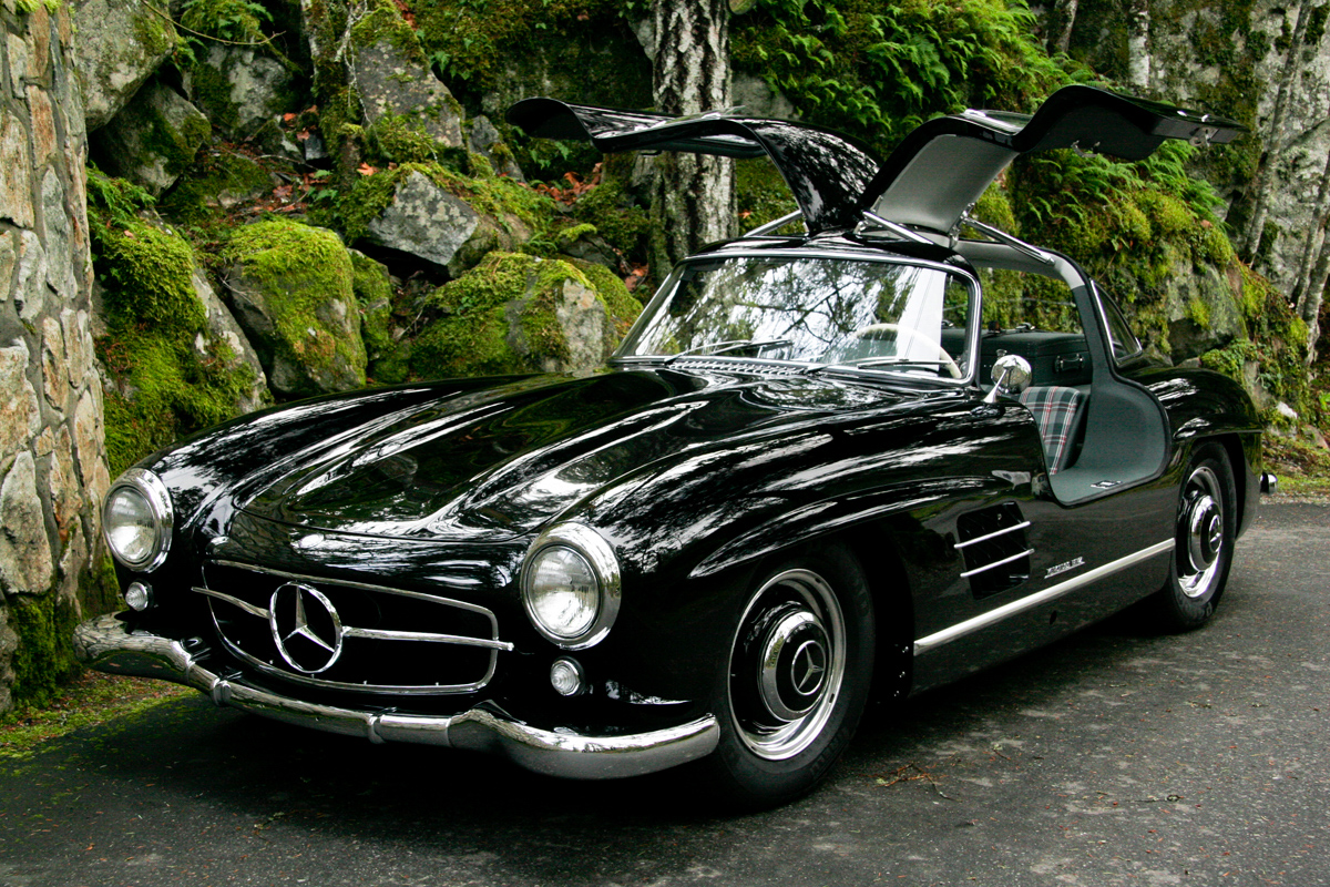 1954 mercedes benz 300sl gullwing for sale silver arrow cars ltd. Black Bedroom Furniture Sets. Home Design Ideas