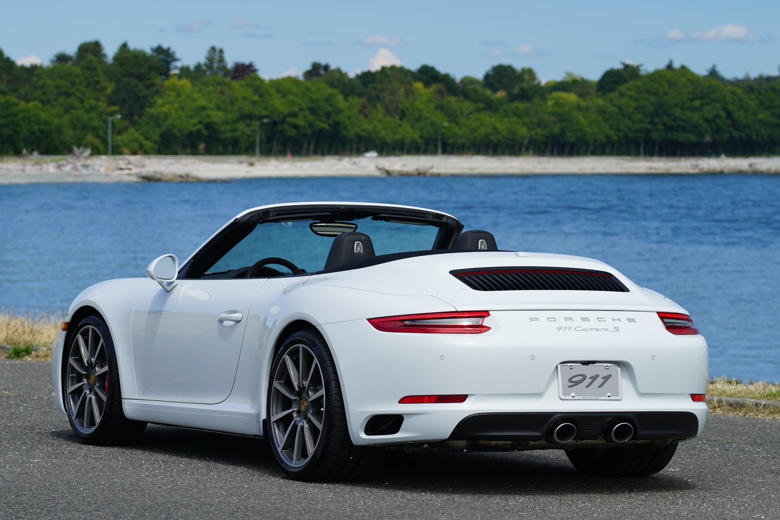 2017 porsche 911 carrera s cabriolet for sale silver. Black Bedroom Furniture Sets. Home Design Ideas