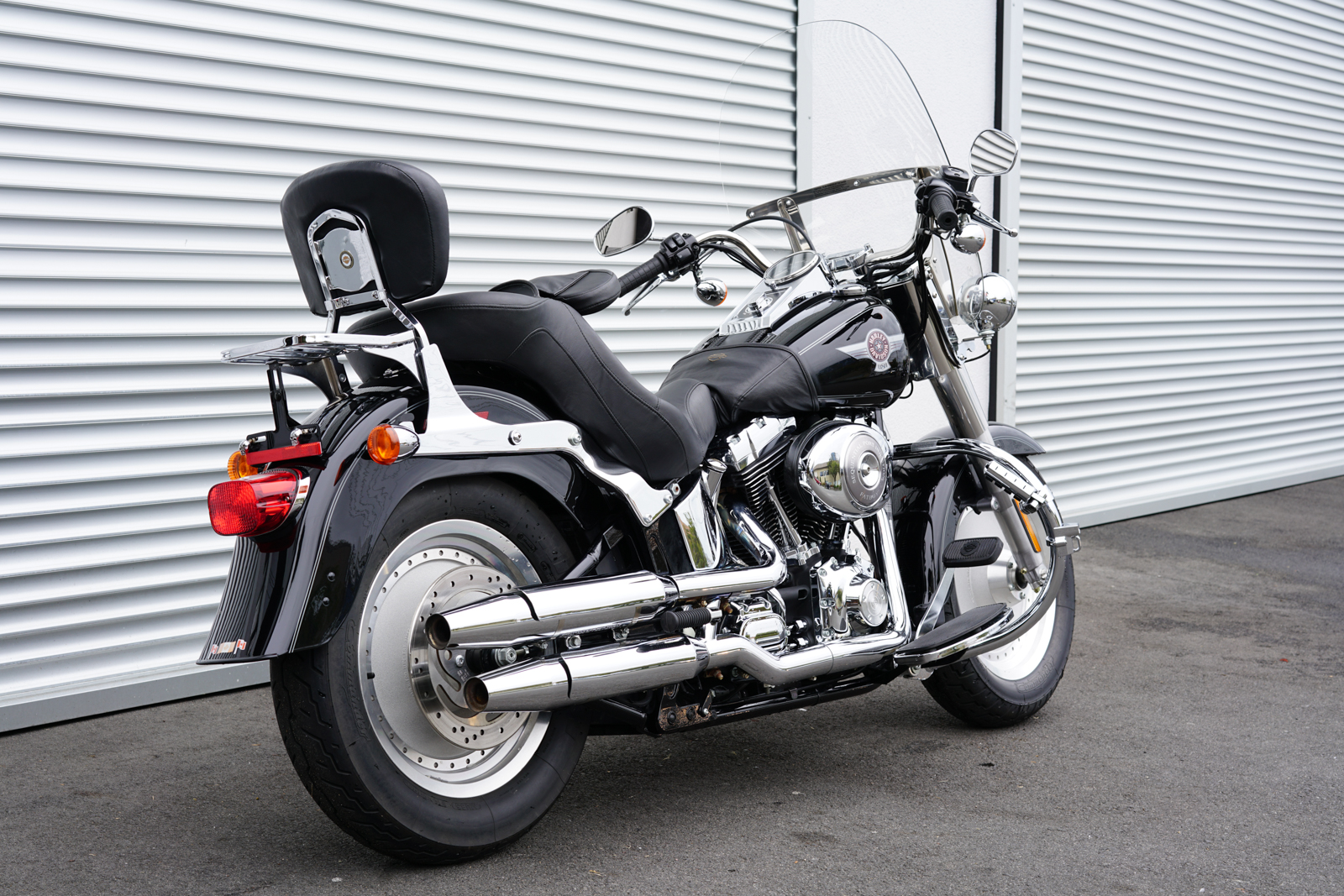 2006 harley davidson fat boy for sale silver arrow cars. Black Bedroom Furniture Sets. Home Design Ideas