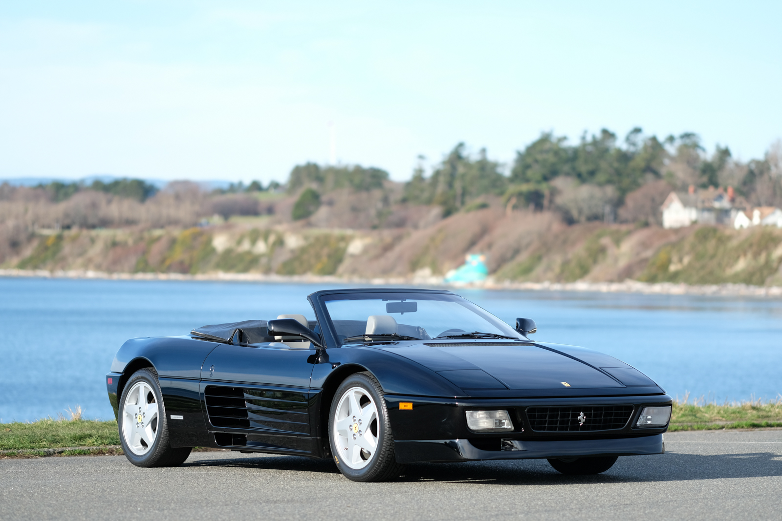 1994 ferrari 348 spider for sale silver arrow cars ltd. Black Bedroom Furniture Sets. Home Design Ideas