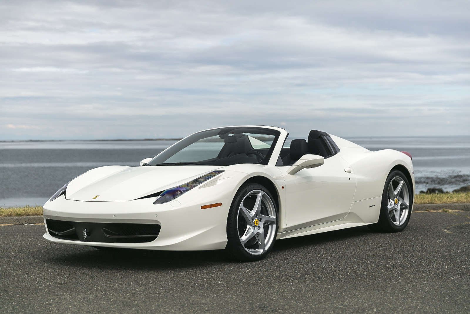 2012 ferrari 458 spider silver arrow cars ltd. Black Bedroom Furniture Sets. Home Design Ideas