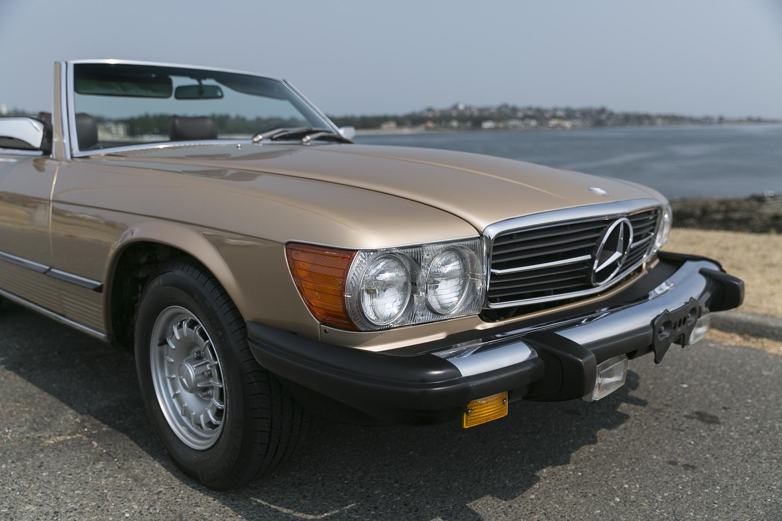 1982 mercedes benz 380sl silver arrow cars ltd for 380sl mercedes benz