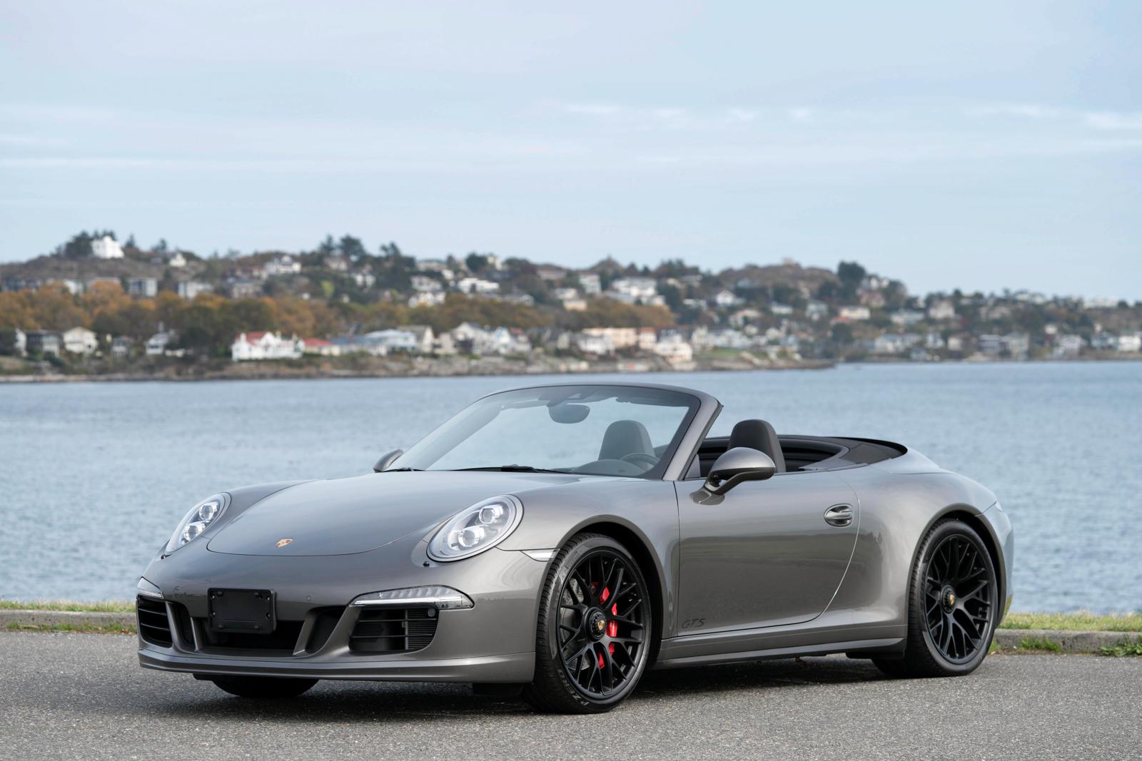 2015 Porsche 911 Carrera 4 Gts Cabriolet Pdk Silver Arrow Cars Ltd