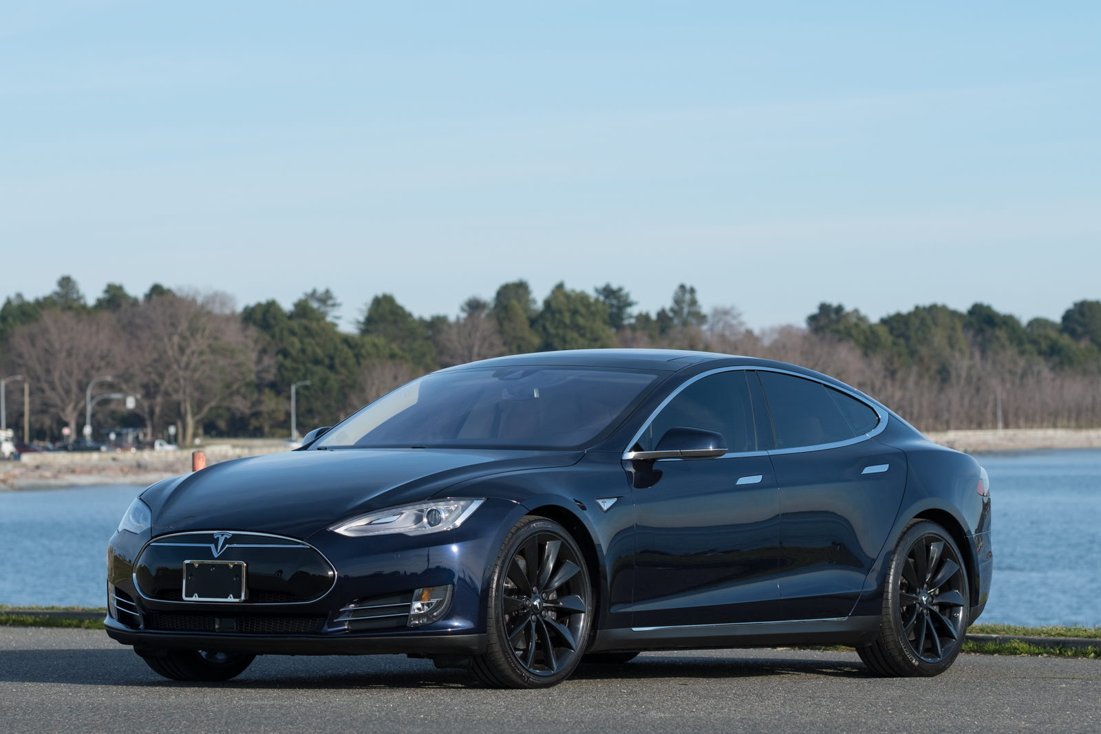 2015 Tesla Model S 85D for sale at Silver Arrow Cars Ltd in Victoria