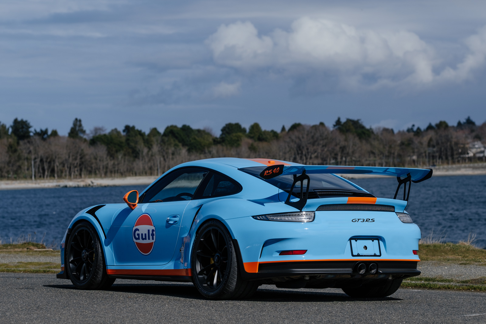 2016 porsche 911 gt3 rs gulf livery silver arrow cars ltd. Black Bedroom Furniture Sets. Home Design Ideas