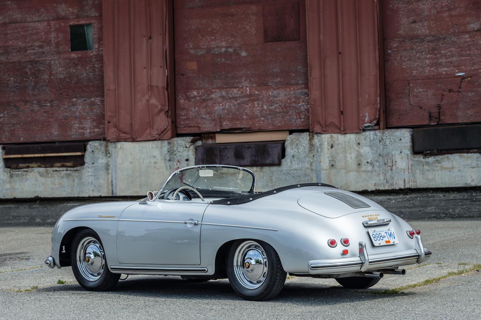 1956 Porsche 356 A Speedster Silver Arrow Cars Ltd