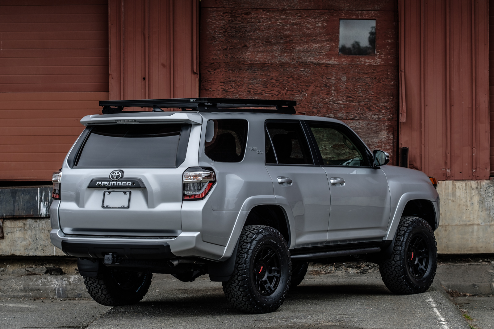 Lifted 4runner For Sale >> 2018 Toyota 4runner Trd Off Road Pro Lifted Silver Arrow Cars Ltd