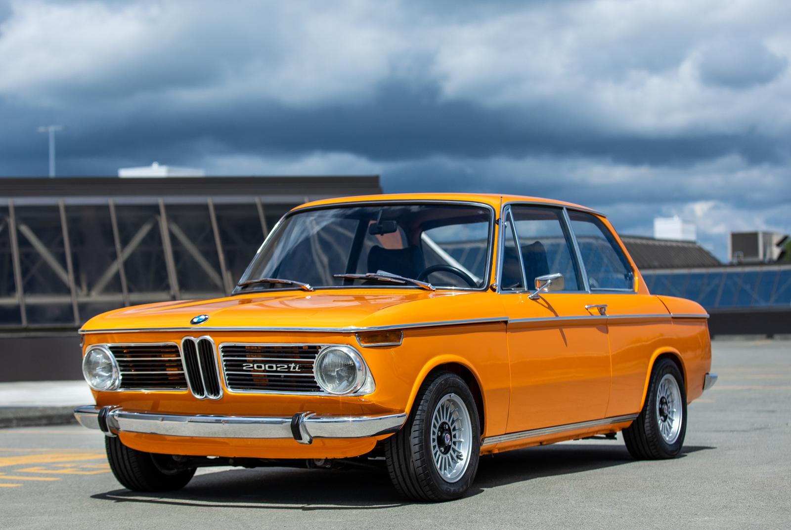 1970 Bmw 2002ti Silver Arrow Cars Ltd