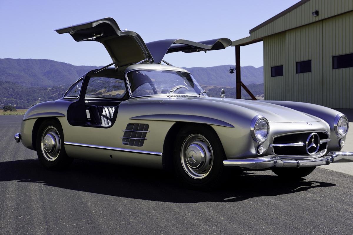1956 Mercedes Benz 300sl Gullwing For Sale Silver Arrow