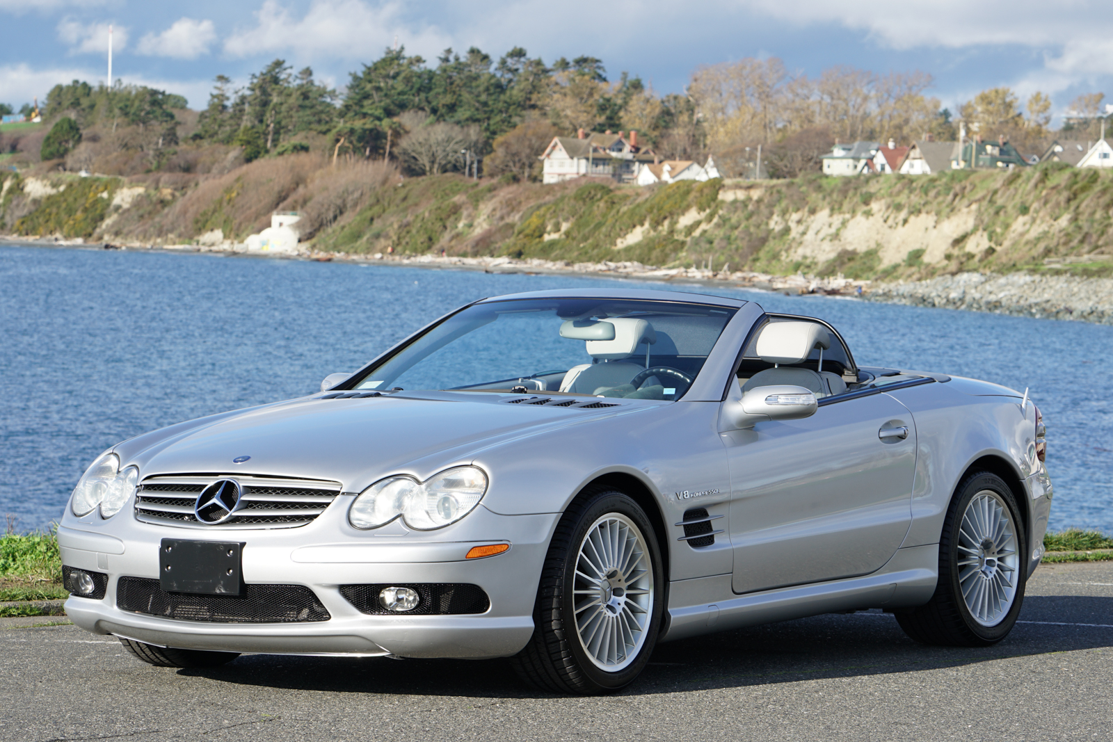 2004 mercedes benz sl55 amg silver arrow cars ltd for Mercedes benz silver