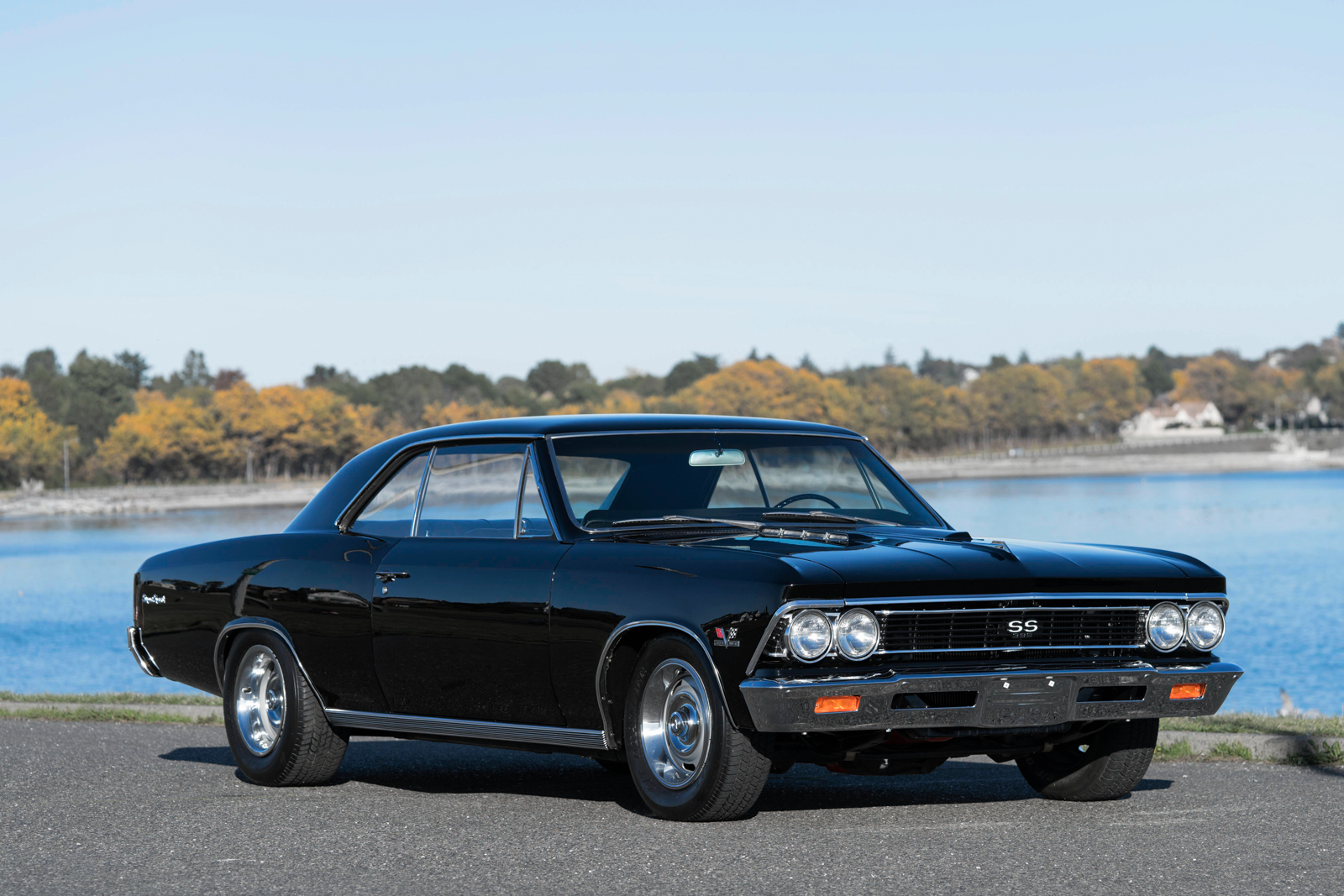 Muscle Cars For Sale >> 1966 Chevrolet Chevelle SS 396 Tribute - Silver Arrow Cars Ltd.