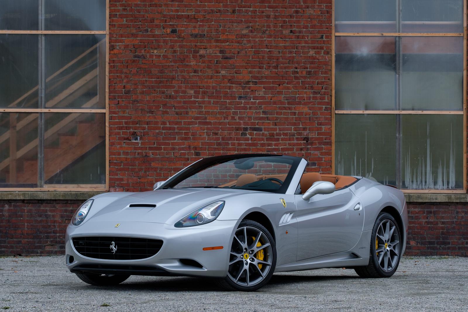 Like New 2010 Ferrari California Convertible For Sale In Victoria Bc